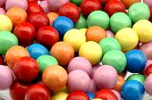 stock photo of gumballs  - Gumball background colors - JPG