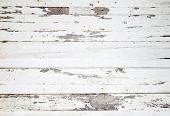 foto of wooden fence  - The white wood texture with natural patterns - JPG