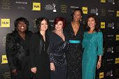 LOS ANGELES - JUN 23:  Sheryl Underwood, Sara Gilbert, Sharon Osbourne, Aisha Tyler, Julie Chen arrives at the 2012 Daytime Emmy Awards at Beverly Hilton Hotel on June 23, 2012 in Beverly Hills, CA