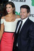 LOS ANGELES - JUN 21:  Rhea Durham , Mark Wahlberg arrives at the