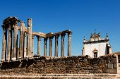 Portugal, Alentejo, Evora: Temple Of Diana
