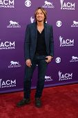 LAS VEGAS - MAR 7:  Keith Urban arrives at the 2013 Academy of Country Music Awards at the MGM Grand Garden Arena on March 7, 2013 in Las Vegas, NV