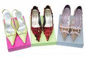 Three Pairs Shoes