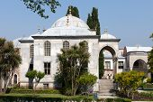 View of Topkapi Palace in Istanbul Turkey