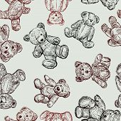 Pattern With A Teddy.eps
