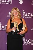 LAS VEGAS - MAR 7:  Miranda Lambert in the press room at the 2013 Academy of Country Music Awards at the MGM Grand Garden Arena on March 7, 2013 in Las Vegas, NV