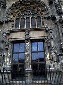 Door, Paris- St. Eustache Gothic Cathedral
