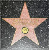 Tom Petty & Heartbreakers estrela na Hollywood Walk da fama