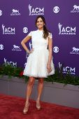 LAS VEGAS - MAR 7:  Kacey Musgraves arrives at the 2013 Academy of Country Music Awards at the MGM G