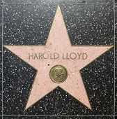 Harold Lloyds Star On Hollywood Walk Of Fame
