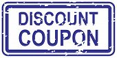 Rabatt Coupon-Stempel