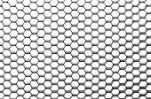 Beehive Pattern With Diagonal Perspective