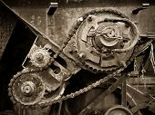 Old Gear Transmission