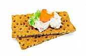 Bread With Mayonnaise And Salmon