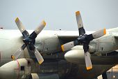 Propellers Of C-130 Hercules