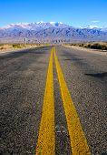 Carretera en la provincia de Salta
