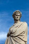 stock photo of alighieri  - The famous poet Dante Alighieri - JPG