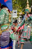 Phranakhonkhiri Festival Parade 2013 On Street