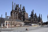 Alte Bethlehem Steel Factory In Pennsylvania