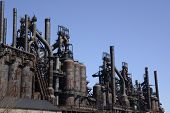Old Bethlehem Steel Factory In Pennsylvania