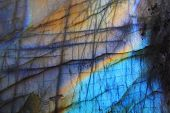 image of labradorite  - labradorite as very nice natural mineral background - JPG