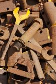 Rusty Mechanic Tools
