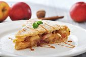 Slice Of Homemade Apple Pie