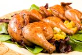 Cornish Hen Serving Platter