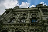 Fa�ade Of The Natural History Museum In Vienna