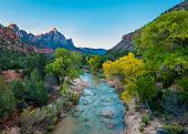 Постер, плакат: Watchman Zion National Park UT