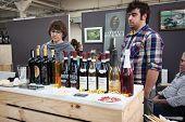 Italian Winemakers At Golosaria 2013 In Milan, Italy