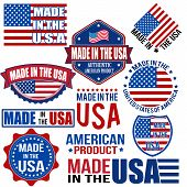 Made In The Usa Graphics And Labels