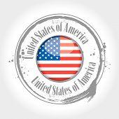 Stamp of the USA