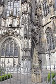 Imperial cathedral at city Aachen, Germany