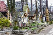 Old Cemetery In Zakopane, Poland