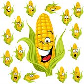 Sweet Corn Cartoon