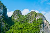 Rocky Mountains In Halong Bay