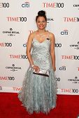 NEW YORK-APR 29: Withelma T Ortiz Walker Pettigrew attends the Time 100 Gala for the Most Influentia