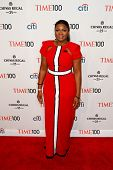 NEW YORK-APR 29: Actress Omotola Jalade Ekeinde attends the Time 100 Gala for the Most Influential P