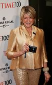 NEW YORK-APR 29: Martha Stewart attends the Time 100 Gala for the Most Influential People in the Wor