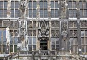 Facade Of Town Hall At Aachen, Germany