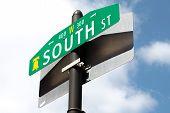 Philadelphia South Street Sign