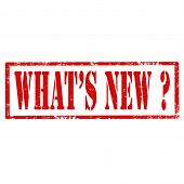 What's New?-stamp