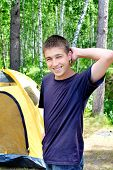 Teenager In The Camp
