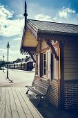 Retro Touristic Train Station