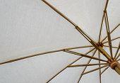 White Fabric Umbrella