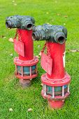 firefighter hose hydrant Red