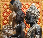 Buddha statues in Wat Phrathat Doi Suthep