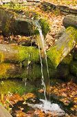source of natural mineral water