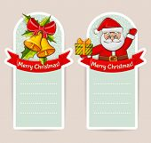 Christmas Banners With Space For Text. Vector Set.